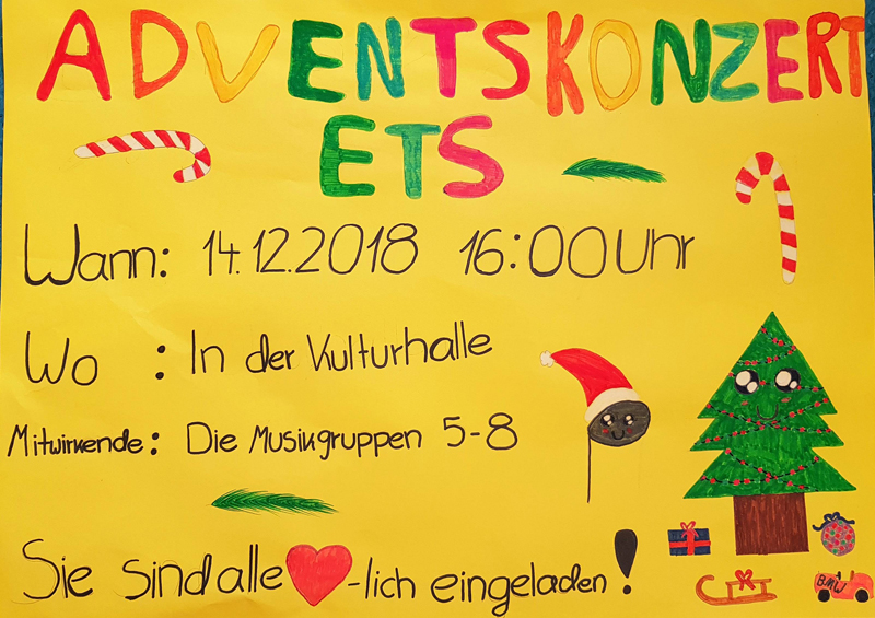 plakat adventskonzert 2018